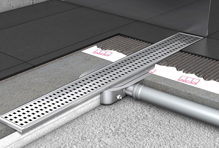 Nuevo canal de ducha para impermeabilizaci n con tela - Suelos para duchas de obra ...