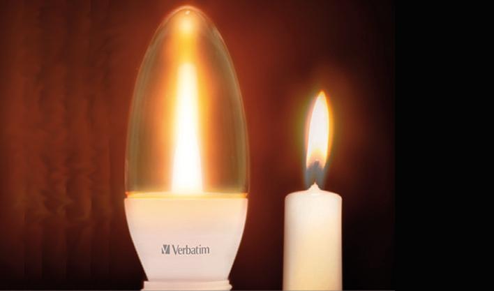 Bombillas led que imitan la llama de una vela for Bombillas led de vela