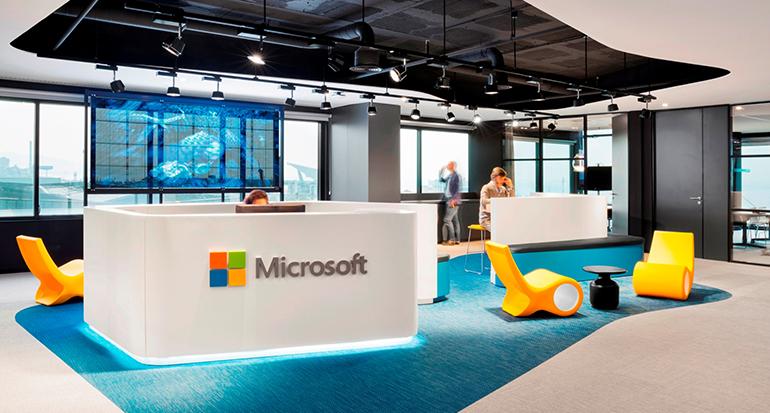 Aecom lleva a microsoft al futuro m s innovador en sus for Oficinas microsoft