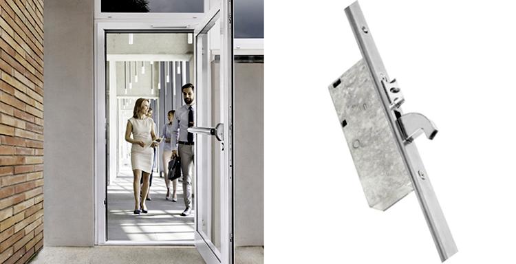 Sistema para puertas antipánico con apertura en un segundo