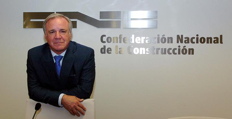 Juan Lazcano deja la presidencia de la CNC tras 20 años al frente de la patronal de la construcción