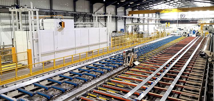 Exlabesa pone en marcha una nueva prensa de extrusión de 4.500 t