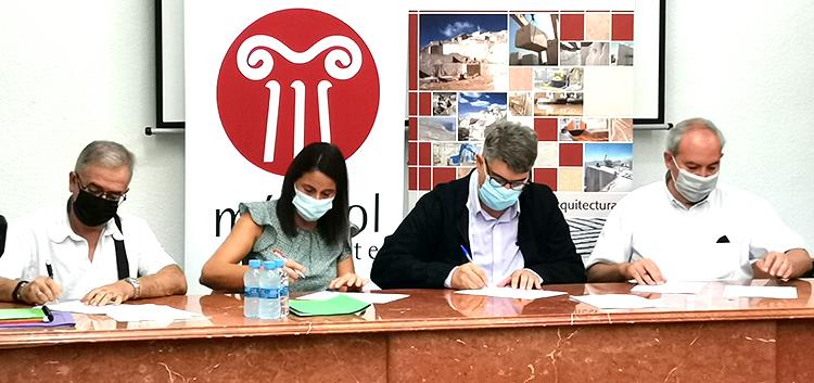 Suscrito el acuerdo parcial del Convenio Colectivo Provincial de Mármoles, Piedras y Granitos