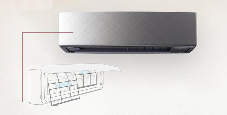 Filtro de iones de plata para equipos de climatización que mejora la calidad del aire
