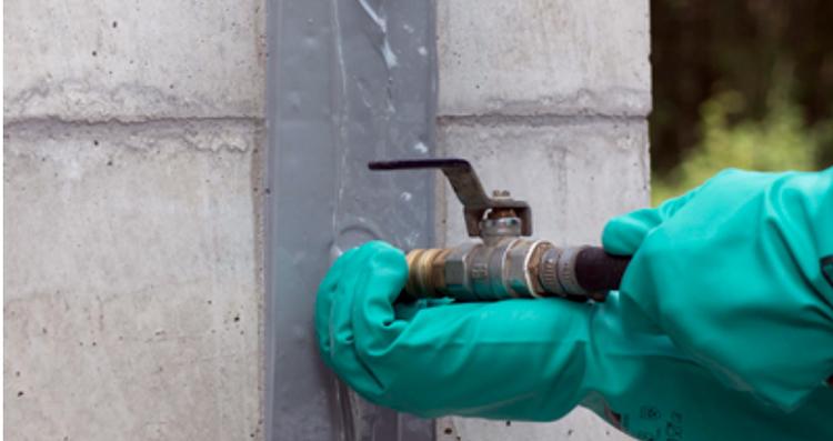 Resina de inyección de sellado elástica multifuncional