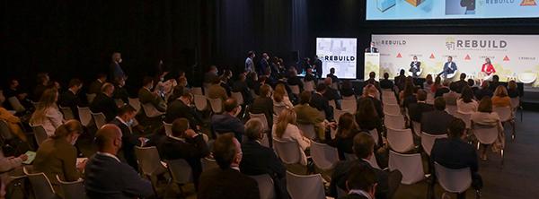 Fran Silvestre, el Foro de Sostenibilidad, las startups del futuro y Construcción en Madera, mañana miércoles en Rebuild