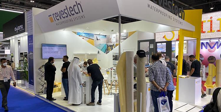 Revestech presenta sus productos en The Big5 de Dubai
