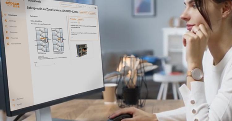 Software que proporciona soluciones de ventilación