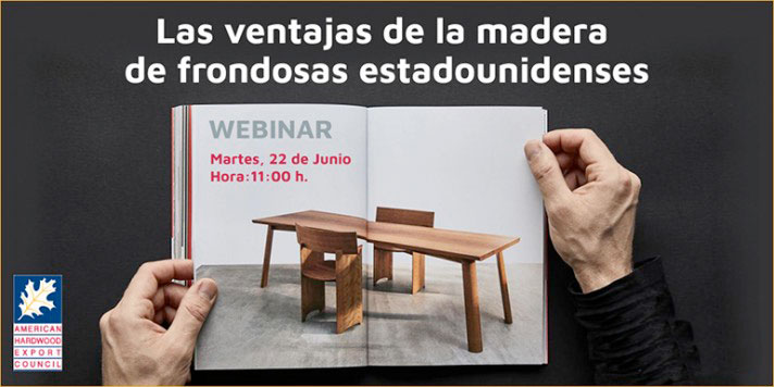 La madera de frondosas para la construcción en el curso online de AHEC