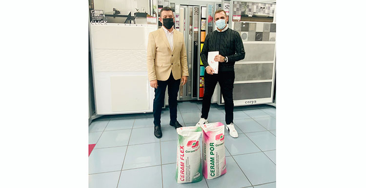Ceramhome lanza dos adhesivos cementosos gracias a la sinergia con Rodacal Beyem