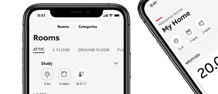 La app de vivienda inteligente de ABB gana el premio de diseño Red Dot