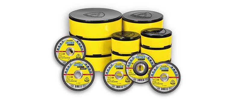 Embalaje inteligente que protege herméticamente los discos de corte