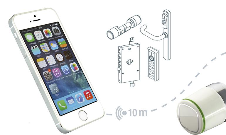 Apertura con el móvil
