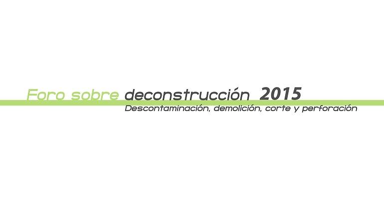 Foro deconstrucción 2015