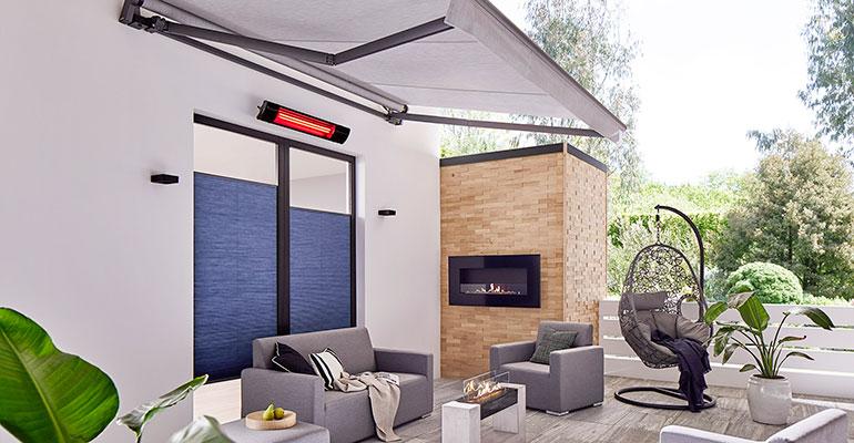 Heatcop calefactor en exteriores