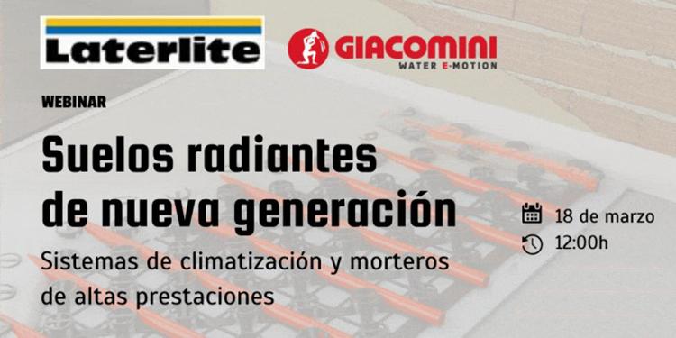 Suelos radiantes de nueva generación: sistemas de climatización y morteros de altas prestaciones en el curso online de InfoConstrucción