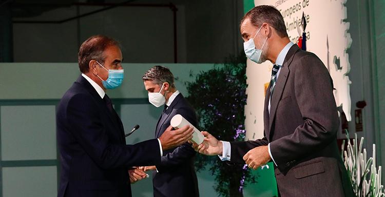Levantina, premiada con un accésit en los Premios Europeos de Medio Ambiente a la Empresa