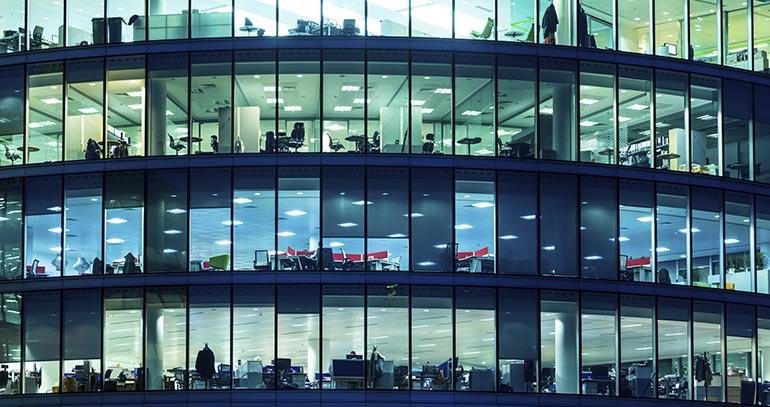 La contrataci n de oficinas crece un 9 4 en madrid y for Vodafone oficinas barcelona