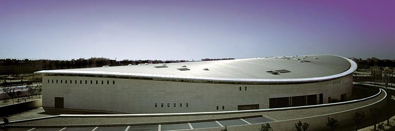 Palacio de Congresos de Valencia cubierta