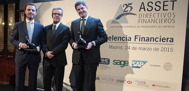 Cosentino Asset Premio Excelencia Financiera
