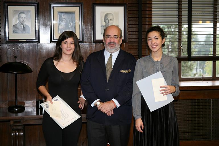 Primer premio Aula Hyspalit Fachada Cerámica