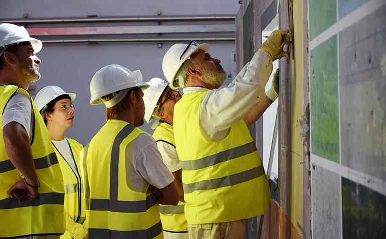 Profesionalización y rejuvenecimiento de la mano de obra, los grandes retos del sector, según el informe del Observatorio Industrial de la Construcción