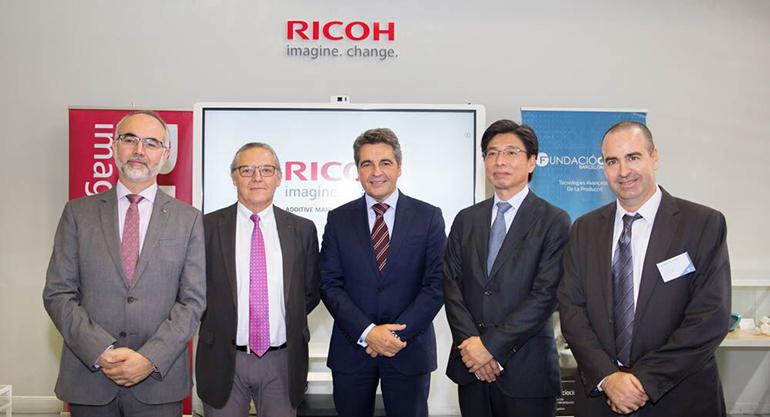 Ricoh España y CIM de la UPC inauguran un centro de impresión 3D en Barcelona