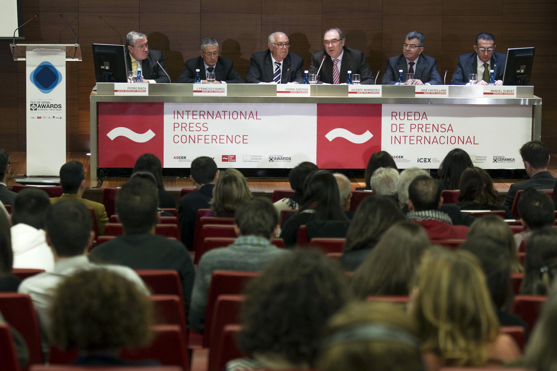 Rueda prensa Premios Ascer en Cevisama