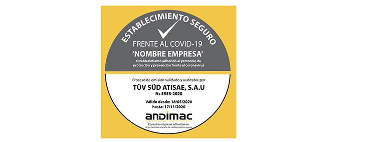 Las tiendas de materiales de construcción cuentan con un sello de seguridad frente a la Covid-19 garantizado por TÜV SÜD