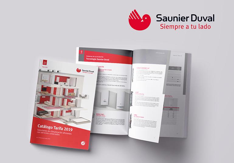 La nueva tarifa general 2019 de Saunier Duval entra en vigor el 1 de marzo