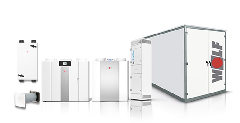 Sistemas de ventilación de interior con control inteligente de la calidad del aire