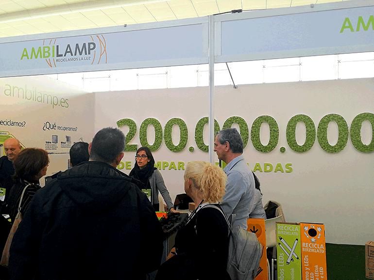 Ambilamp vuelve a participar en Conama 2018