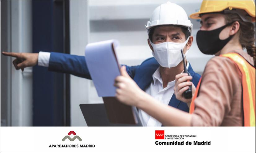 Los aparejadores de Madrid inspeccionan los edificios de los centros educativos de la región tras el temporal de nieve