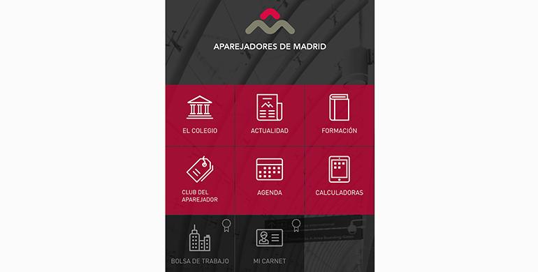 El Colegio de Aparejadores de Madrid lanza su primera aplicación móvil