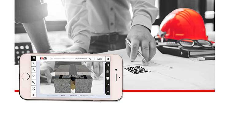 Emac Grupo presenta su aplicación de realidad aumentada dirigida al sector de la construcción en Cevisama