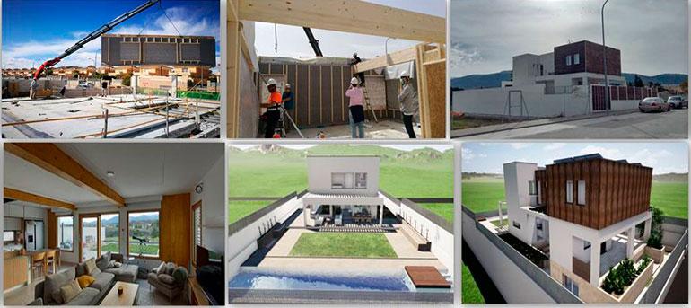 arruina casa de madera sismo resistente