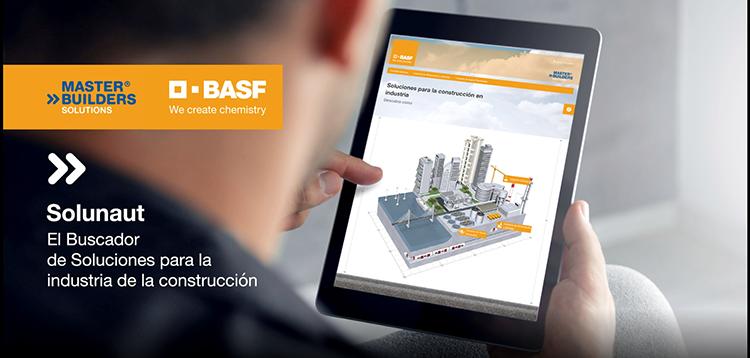 Construyendo el futuro de la construcción industrial con la herramienta digital Solunaut de Master Builders Solutions de BASF