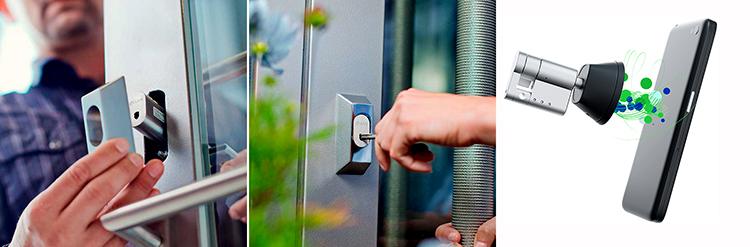 Cerraduras inteligentes y sin cables que ofrecen seguridad en grandes espacios
