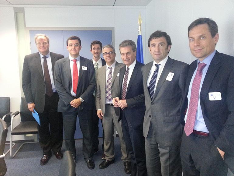reunión comisario europeo