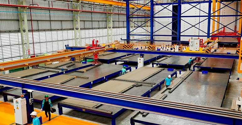 Crean la primera fábrica de construcción industrializada en España