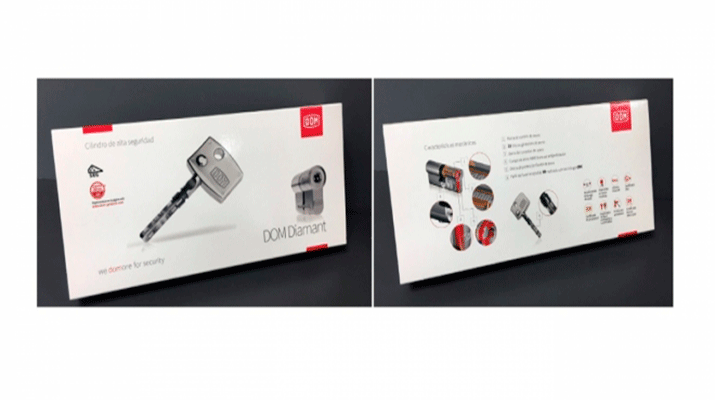 Un nuevo embalaje para los cilindros Diamant y Saturn