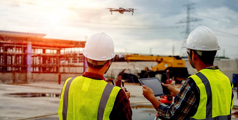 El seguimiento del desarrollo de obras de construcción con drones aporta numerosos beneficios