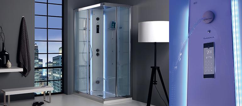 Cabinas de ducha multifunción en diferentes formatos
