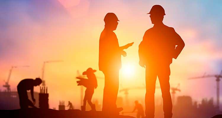 La construcción genera 1.100.000 puestos de trabajo, con una variación anual de 2,77 puntos en 2019