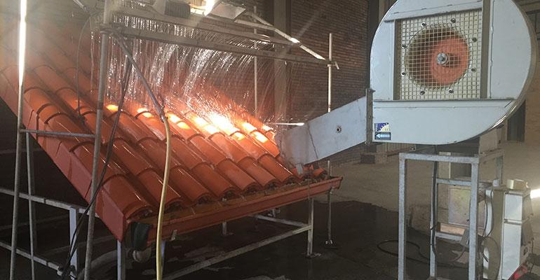 Hispalyt reivindica el uso de tejas en cubiertas ante fenómenos meteorológicos