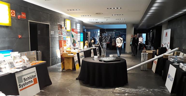 Espacio expositivo del DPA Fórum Madrid