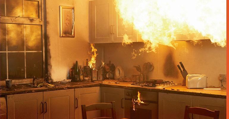 Incendio en cocina infoconstruccion