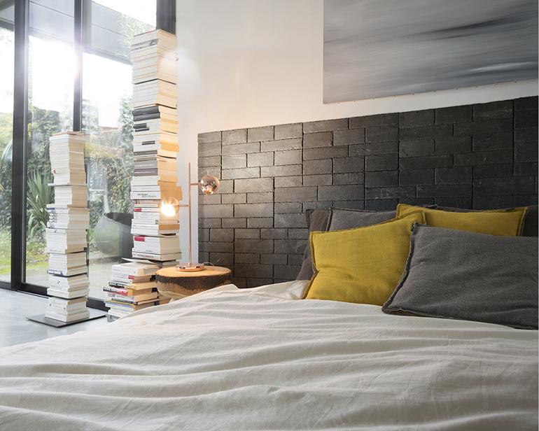 Panel autoadhesivo ecológico para decoración de paredes interiores