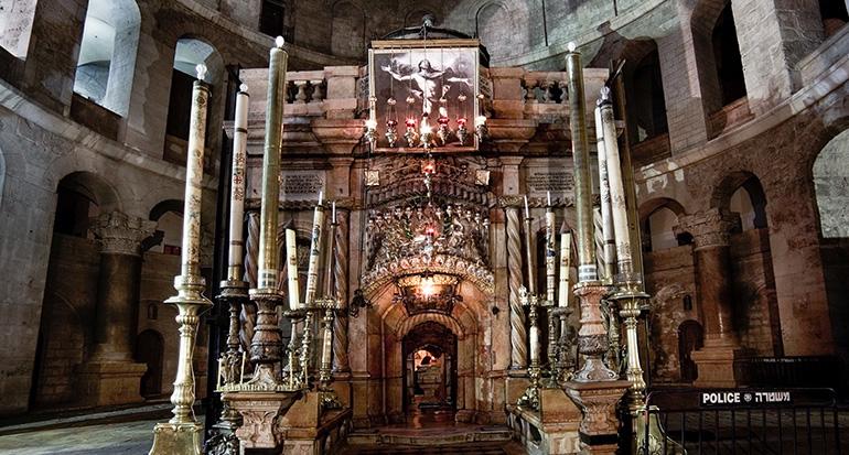 Una empresa española colabora para restaurar el Santo Sepulcro de Jerusalén