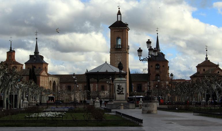 La Casa de los Grifos se encuentra en Alcalá de Henares